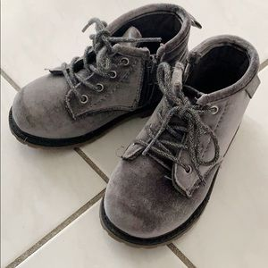 Toddler Girl Lace-Up Boots